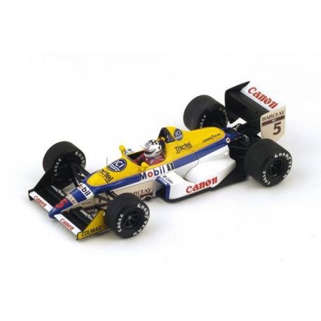 Williams FW12 F1 Italie 1988 Jean Louis Schlesser Spark S4029