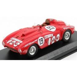Ferrari 375 Plus 19 Rallye Carrera Panamericana 1954 Umberto Maglioli Art Model ART405