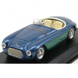 Ferrari 166MM Barchetta Chassis 0064 Gianni Agnelli Personal Car 1948 Blue Art Model ART026-2