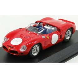 Ferrari Dino 246SP Chassis 0796 Spider Fantuzzi test version 1961 Red Art Model ART412