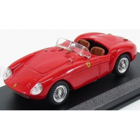 Ferrari 500 Mondial Spider test version Long Nose 1954 Red Art Model ART320