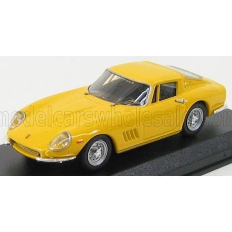 Ferrari 275 GTB/4 Coupe 1966 Yellow Best Model 9002