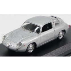 Fiat Abarth 750 Zagato Coupe 1958 Silver Best Model 9483