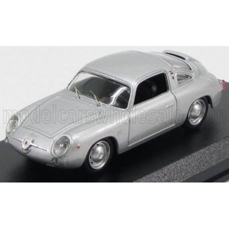 Fiat Abarth 750 Zagato Coupe 1958 Silver Best Model 9483
