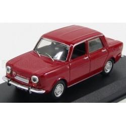 Simca 1150 Abarth 4-Door 1963 Red Best Model 9476