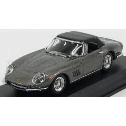 Ferrari 275 GTB Spider Cabriolet Closed 1967 Grey and Black Best Model 9538
