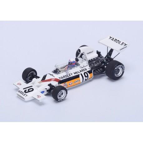 McLaren M19 F1 Canada 1972 2ème Peter Revson Spark S4295