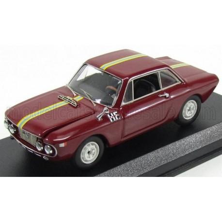 Lancia Fulvia 1300HF 1966 Red Best Model 9646