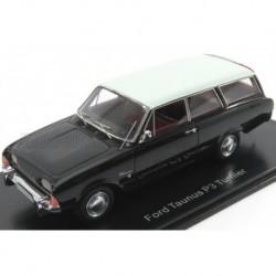 Ford England Taunus P3 Turnier 1960 Black Ivory NEO NEO44561