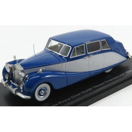 Rolls Royce Silver Wraith Hooper Empress Line 1956 Blue Light Grey NEO NEO47140