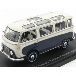 Ford England Taunus Transit Panorama Minibus 1961 White Blue NEO NEO46695