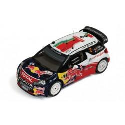 Citroen DS3 WRC 2 Rallye du Portugal 2011 Ogier - Ingrassia IXO RAM474