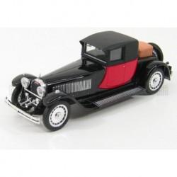 Bugatti 41 Royale Coupe Napoleon 1929 Black Red Rio Models 4234