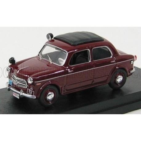 Fiat 1100 Police 1957 Bordeaux Rio Models 4319