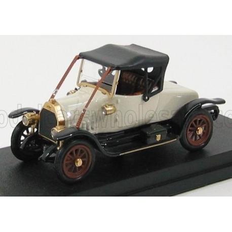 Fiat Tipo 0 Spider closed 1912 White Black Rio Models 4330