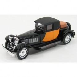 Bugatti 41 Royale Coupe Napoleon 1929 Black Yellow Rio Models 4233
