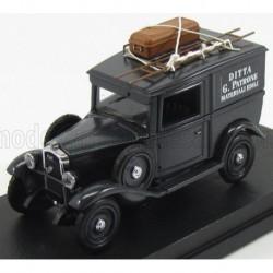 Fiat 508 Ballila 1936 Black Rio Models 4518