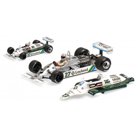 Williams Ford FW07B WC 1980 Alan Jones Minichamps 436800027