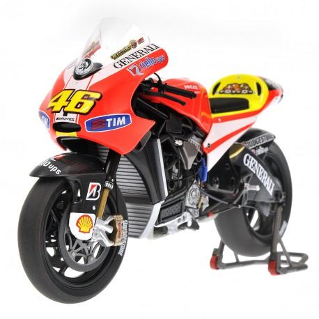 Ducati Desmosedici GP11 Moto GP 2011 Valentino Rossi Avec figurine Minichamps 322110046