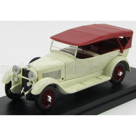Mercedes Benz - 11-40 Cabriolet Closed 1924 White and Red Rio Models 4462