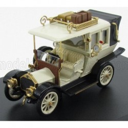 Mercedes Benz 20 - 35 PS Taxi Berlin 1911 Ivory White and Black Rio Models 4474
