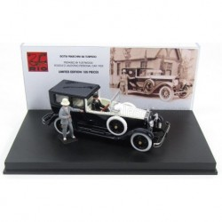 Isotta Fraschini 8A Torpedo by Fleetwood Rodolfo Valentino Personal Car with figures 1925 Black Ivory Rio Models 4499/P