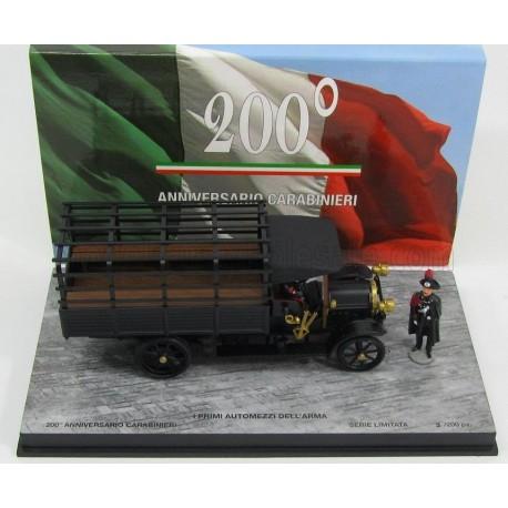Fiat 18BL 200th Anniversary Carabineri with Figure 1915 Black Rio Models 200-3/D