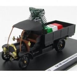 Fiat 18BL Truck Armée Italienne Funeral Car 1915 Black Rio Models 1915-3/D