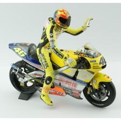 Honda NSR 500 Le Mans 2001 Valentino Rossi Avec figurine Minichamps 322016176