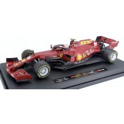 Ferrari SF1000 16 F1 Toscane Mugello 2020 Charles Leclerc 1000th Ferrari GP Bburago 16808LTU