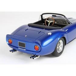 Ferrari 275 GTS/4 NART SN 10453 Personal Car of Steve McQueen Blue Metallic With showcase BBR BBR1824V