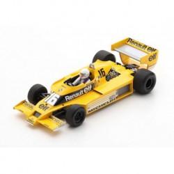 Renault RS01 16 F1 Grand Prix de Belgique 1979 René Arnoux Spark 18S502