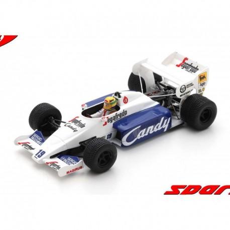Toleman TG184 19 F1 2ème Grand Prix de Monaco 1984 Ayrton Senna Spark S2778