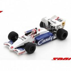 Toleman TG184 20 F1 Grand Prix de Monaco 1984 Johnny Cecotto Spark S2779