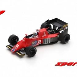 Spirit 101 21 F1 Grand Prix du Brésil 1984 Mauro Baldi Spark S3926