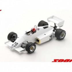 Arrows A6 29 F1 Grand Prix du Brésil 1983 Marc Surer Spark S5778