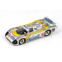 Sauber C6 95 24 Heures du Mans 1986 Spark S4081