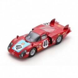 Alfa Romeo 33/2 40 24 Heures du Mans 1968 6ème Spark 18S511