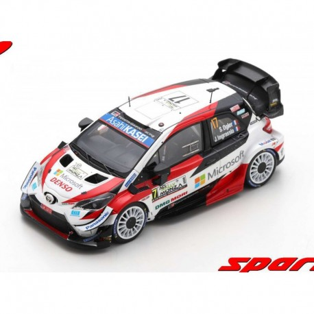 Toyota Yaris WRC 17 Winner Monza Rally 2020 World Champion Ogier - Ingrassia Spark S6572