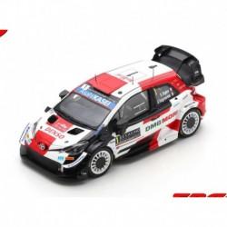 Toyota Yaris WRC 1 Winner Rallye Monte Carlo 2021 50ème victoire WRC Ogier - Ingrassia Spark S6582