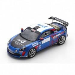 Alpine A110 RGT 43 Rallye Monte Carlo 2021 Winner RGT Guigou - Coria Spark S6578