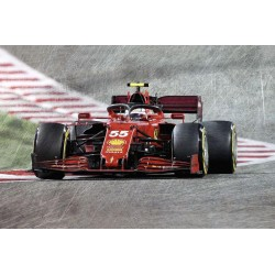 Ferrari SF21 55 F1 Grand Prix de Bahrain 2021 Carlos Sainz Jr Looksmart LS18F1036