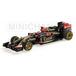 Lotus Renault E22 F1 2014 Romain Grosjean Minichamps 417140008