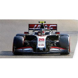 Haas Ferrari VF20 20 F1 Grand Prix d'Abu Dhabi 2020 Kevin Magnussen Minichamps 417201720