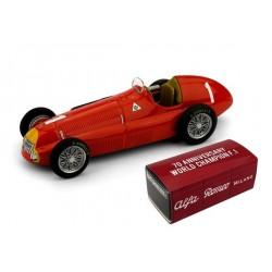 Alfa Romeo 158 1 F1 Angleterre 1950 Juan Manuel Fangio Brumm R036C