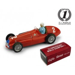 Alfa Romeo 158 2 F1 Angleterre 1950 Nino Farina Brumm R036BCH