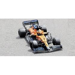 McLaren Mercedes MCL35M 3 F1 Bahrain 2021 Daniel Ricciardo Minichamps 530211803