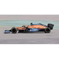 McLaren Mercedes MCL35M 4 F1 Bahrain 2021 Lando Norris Minichamps 530211804