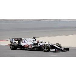 Haas Ferrari VF-21 9 F1 Bahrain 2021 Nikita Mazepin Minichamps 417210109