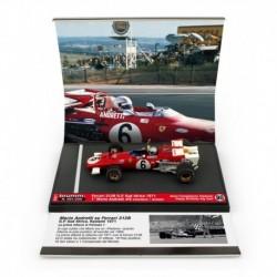 Ferrari 312B 6 F1 Winner Afrique du Sud Kyalami 1971 1st Win Mario Andretti Brumm S2011
